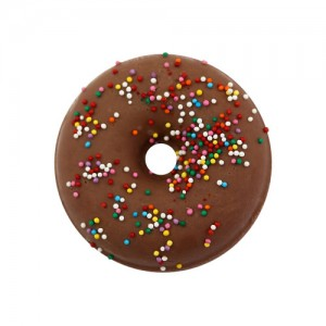 "Гейзер-пончик для ванны ""Шоколад"", 180 гр"